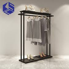 OEM ODM Good Quality Modern Tailor Shop For Display Garment Commercial Clothing Cabinets