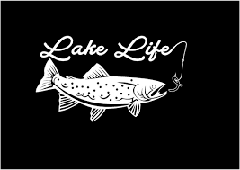 Lake Life Decal Trout Decal Fishing Decal Vinyl Decal Car Truck Auto ... Car Stylings Hunting Fishing Stickers 1514cm And Amazoncom Bass Fishing Spinner Bait Window Vinyl Decal Sticker Large Under Armour Fish Hook Vinyl Decal Sticker For Zebco Sheet 9 Crashdaddy Racing Decals Awesome Trucks Northstarpilatescom Philippines Web Cam Funny Bumper Stickersand 2018 25414cm Reflective Skull Skeleton Keeping It Reel Vehicles Laptop And Best Truck Resource Bass Silhouette At Getdrawingscom Free Personal Use Respect The Freak Fishing Decal North 49