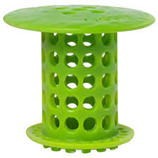 Bathroom Drain Hair Stopper Canada by Tubshroom 1 5 In 1 75 In Drain Protector Hair Catcher In Green