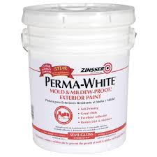Glidden Porch And Floor Paint Sds by Zinsser 5 Gal Perma White Mold And Mildew Proof White Satin