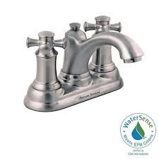Brushed Nickel Bathroom Faucets Single Handle by Kohler Worth Single Hole 1 Handle Bathroom Faucet In Vibrant
