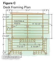 Images Deck Plans by Deck Plans Family Handyman
