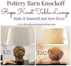 Pottery Barn Knockoff Rope Knot Lamp - Down Home Inspiration Free Shipping Coupon For Pottery Barn Rock And Roll Marathon App Pottery 20 Off 2018 Coffee Cake Deals Brisbane Barn Holiday Picks Sundays With Susie 2016 Best Emails Hagopian Ink Bedroom Fniture Sale Bjyohocom Halloween Inspiration From The Whimsical Lady Off Coupon Coupons Btb Style Design Back To School With Kids Teens Whats Kickin Kuwait 12 Best Study Desk Accsories Images On Pinterest Painted Fabric Upholstered Wing Back Chair Knockoff