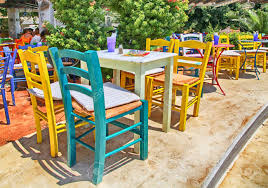 Cityscape With Traditional Sidewalk Greek Tavern With Multicolored.. Tables Old Barrels Stock Photo Image Of Harvesting Outdoor Chairs Typical Outdoor Greek Tavern Stock Photo Edit Athens Greece Empty And At Pub Ding Table Bar Room White Height Sets High Betty 3piece Rustic Brown Set Glass Black Kitchen Small Appealing Swivel Awesome Modern Counter Chair Best Design Restaurant Red Checkered Tisdecke Plaka District Tavern Image Crete Greece Food Orange Wooden Chairs And Tables With Purple Tablecloths In