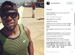 Adventures In Decorating Instagram by Kevin Hart Runs Through Corpus Christi Heat Like A True Texan