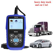 2019 Best Heavy Duty Truck Automotive Diagnostic Scanner NexLink ...