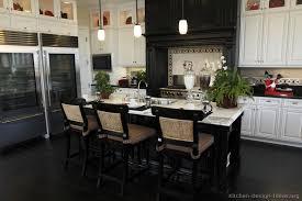 black and white kitchen design ideas for white kitchens