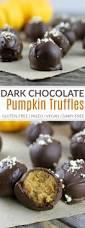Healthy Chocolate Pumpkin Desserts by Pumpkin Pie Truffles The Real Food Dietitians