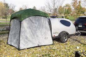 100 Tent For Back Of Truck 5x7 Mini Side Mount Screen Room TeardropShopcom