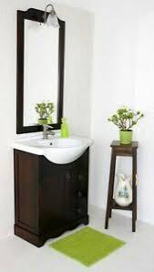 details zu massivholz bad möbel set 4teilig braun italienische badezimmer komplett kolonial