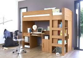Low Loft Bed With Desk Underneath by Low Loft Bed With Desk Walnut Wood Twin Loft Bed Desk Chest Low