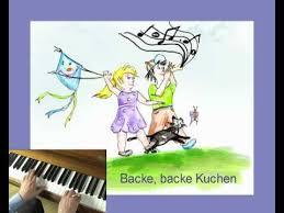 backe backe kuchen kindermusik