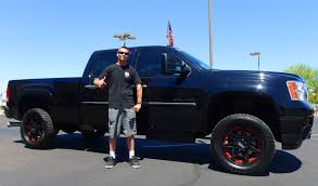 Heading Back To Cali In His New Sierra From Lifted Trucks ...