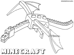 Exclusive Minecraft Coloring Pages