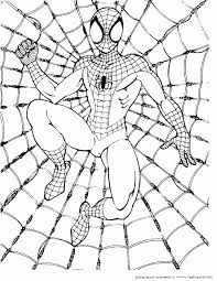 Free Spiderman Coloring Pages For Kids About Pdf