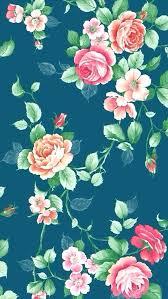 Floral Wallpaper Vintage Background