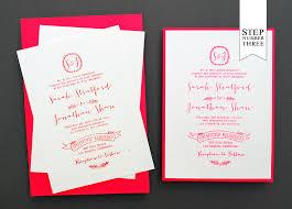 Card Stock Invitations Diy Tutorial Neon Kraft Paper Wedding