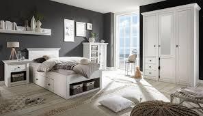 schlafzimmer komplett hooge in pinie weiß landhaus komplettzimmer mit bett kleiderschrank kommode und nachttisch