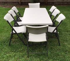6 Ft Rectangular Table Rentals: Table Set With 8 Chairs - Yelp Poupard Tent Rental Monroe Mi Party Graduation Lifetime 8 Foldinhalf Table Almond 80175 Walmartcom Fniture Tremendous Folding Tables Walmart For Alluring Home 244x76cm Chair Galds_244_8kresli Foot Fresh Pnic Solid Wood Ding Room Lovely Kitchen Chairs Elegant 13 Best Of How Many At Pics Mvfdesigncom Antrader 24pcs Round Shape Pvc Rubber Covers Soldedwardian Period Foot Mahogany Riley Snooker Ding Table Foot Italian Marquetry Queen Anne Syo 4 Leg