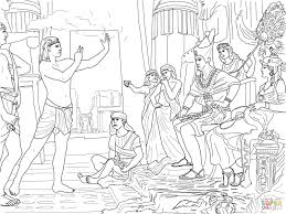 Joseph Son Of Jacob Coloring Pages With And His Brothers