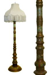Restoration Bronze Torchiere Floor Lamp by Antiques Com Classifieds Antiques Antique Lamps And Lighting