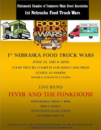 1st Nebraska Food Truck Wars/ Street Dance - Plattsmouth Chamber Of ... Food Truck Wars Muskogee Chamber Of Commerce Jeremiahs Ice On Twitter Keeping It Cool With Ucf_knightro Sanford Food Truck Wars Competion Sanford 365 Foodtruckwar2 Naples Herald Food Truck On The Brink Lunch And The City Ucfastival Adds Atmosphere To Spring Game Life Nsmtoday Inaugural Event At Six Bends Ft Myers Pizza Nyc Film Festival I Dream Of Warz 2 Kicking Up A Notch Bdnmbca Brandon Mb Wars Saskatoon Association Faq