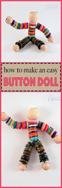 This Button Doll Craft Is Perfect For Anyone