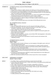 Junior Financial Analyst Resume Samples | Velvet Jobs Analyst Resume Templates 16 Fresh Financial Sample Doc Valid Senior Data Example Business Finance Template Builder Objective Project Samples Velvet Jobs Analytics Beautiful Mortgage Atclgrain Skills Entry Level Examples Credit Healthcare Financial Analyst Resume Pdf For
