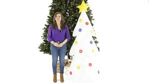 6ft Christmas Tree With Decorations by Giant 6ft Inflatable Christmas Tree Youtube