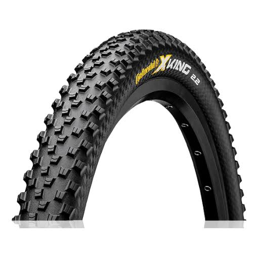 "Continental X-King Tire - 27.5"" x 2.4"" MTB, 180 TPI, Black"