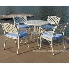 home garden patio furniture American cast metal model room tables