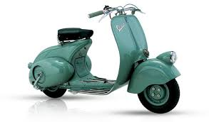The First Sales Of Vespa Were Managed Through A Small Dealer Network And Price Standard Model Was 55000 Lire While Deluxe Version Sold