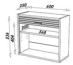 meuble cuisine 25 cm largeur petit meuble de cuisine aluminium avec rideau déroulant 60 cm cooky