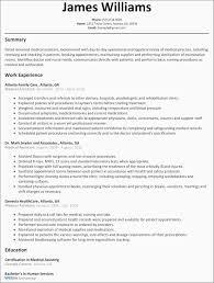 Finance Certifications Free As 30 Elegant Resume Examples 2016