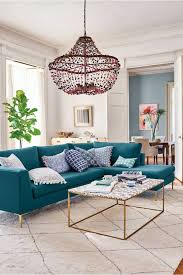 Brown And Teal Living Room Designs by Teal Sofa Decorating Ideas Www Energywarden Net