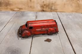 100 Toy Tanker Trucks Vintage Wyandotte Bank Truck Wooden Wheels Red