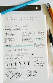 These fonts are perfect for Bullet Journals and are very easy to