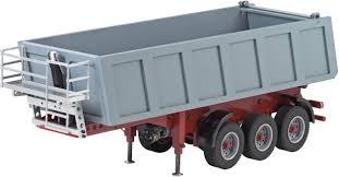 100 Rc Semi Trucks And Trailers Carson Modellsport 907050 114 RC 3 Axle Dumper Trailer L X W