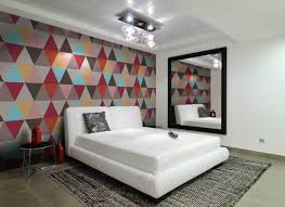 Bedroom Modern Master Bedroom Art Idea With Crystal Chandelier
