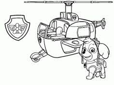Skye And Her Helicopter