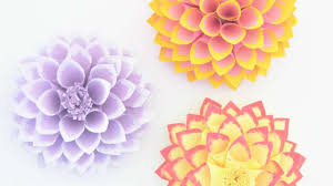 How To Make Simple DIY Paper Flowers Brighten Your Home
