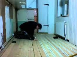 Wood Floor Leveling Filler by Filling Cracks In Wood Floor Youtube