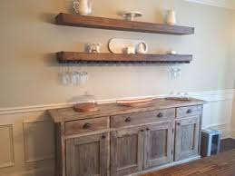 Dining Room Storage Pertaining To Floating Shelves In The Wine Glass Buffet And Plan 9