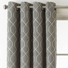 Grommet Top Curtains Jcpenney by Home Expressions Pasadena Embroidery Blackout Grommet Top Curtain
