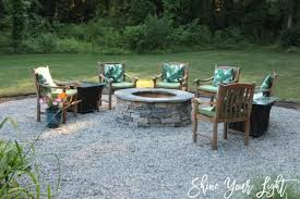Pea Gravel Patio Images by Installing A Pea Stone Patio Shine Your Light