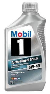 Amazon.com: Mobil 1 44986 5W-40 Turbo Diesel Truck Synthetic Motor ...