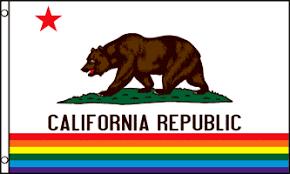 CALIFORNIA PRIDE FLAG 3x5