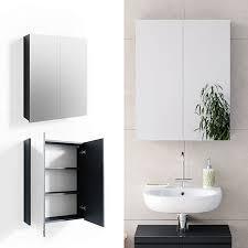 vicco spiegelschrank freddy anthrazit spiegel badspiegel wandspiegel badezimmer