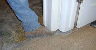 Unlevel Floors In House by Floor And Wall Gaps Cracks Separation Foundation Repair