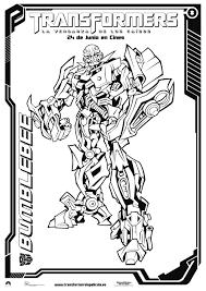 Transformers Coloring Pages Bertmilneme
